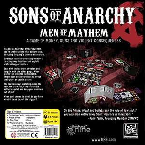Son Of Anarchy TV Board series £12.99 Dispatched from and sold by BuySend - Amazon