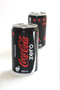 Free Coke Zero adorable mini can and voucher for 500ml bottle in any shop until 31 October in Manchetser, Market st now