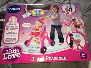 Vtech little love 3in1 pushchair £12.99 at home bargains