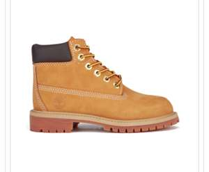 TIMBERLAND KIDS' 6 INCH PREMIUM WATERPROOF BOOTS - WHEAT £29.74 with code @ The hut