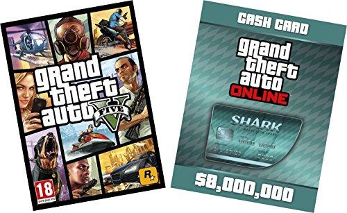 GTA V & Megalodon Shark Card Bundle [PC Online Code] £29.75 @ Amazon