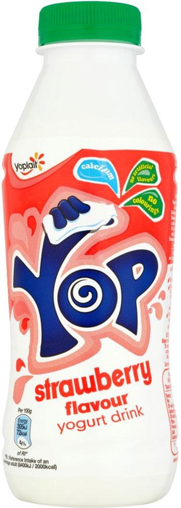 Yop Raspberry or Strawberry Flavoured Yoghurt Drink (500g) was £1.00 now 50p @ Tesco