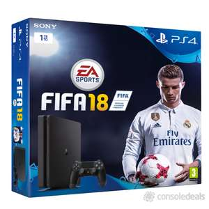PS4 1 TB + FIFA 18 £259.99 @ Tesco