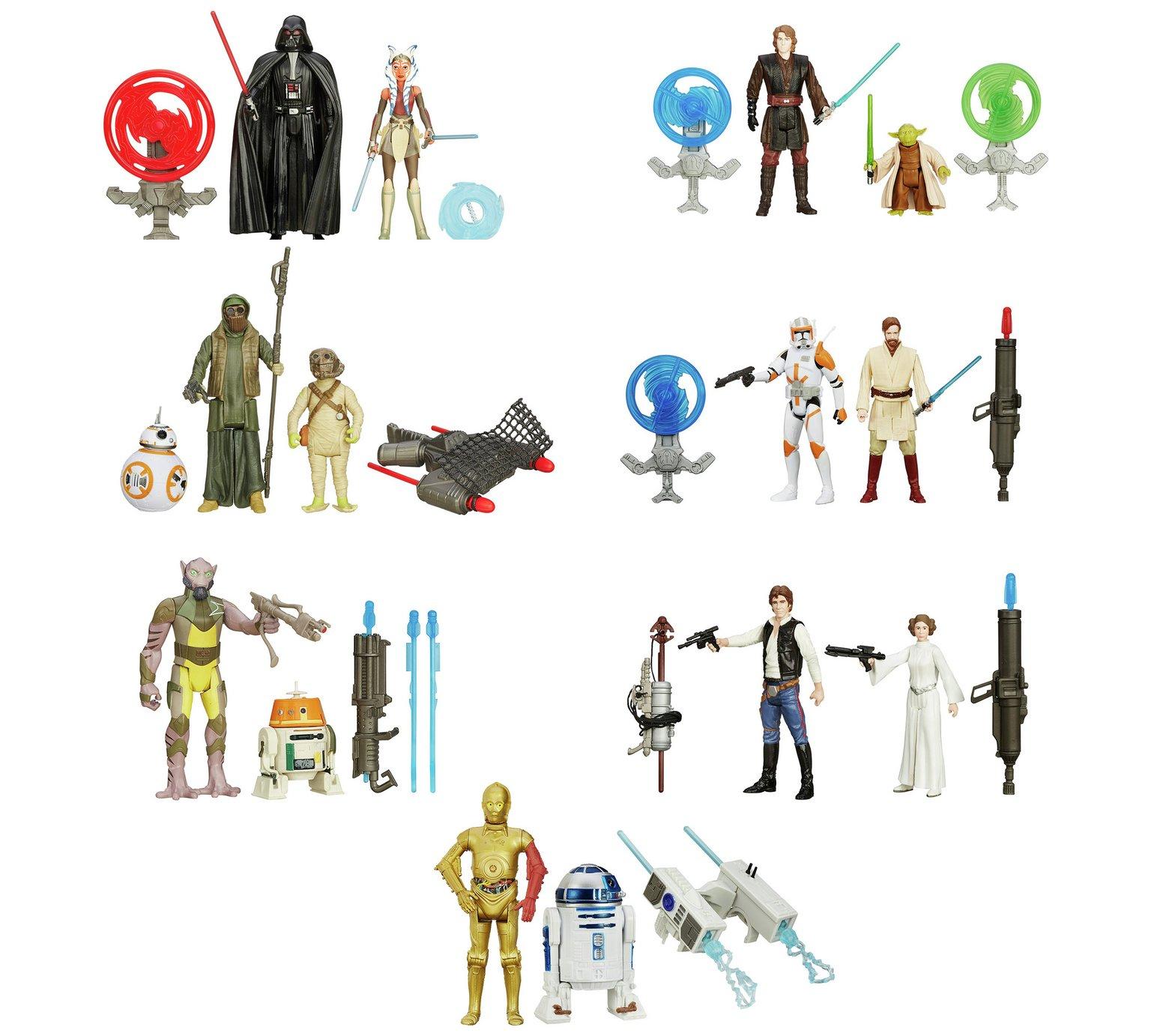 Star Wars figure 2 pack assortment £3.99 @ Argos