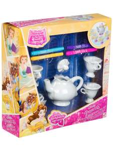 Disney Princess Belle Colour Your Own Mrs Potts & Chip Tea Set now £7.49 C&C @ Very