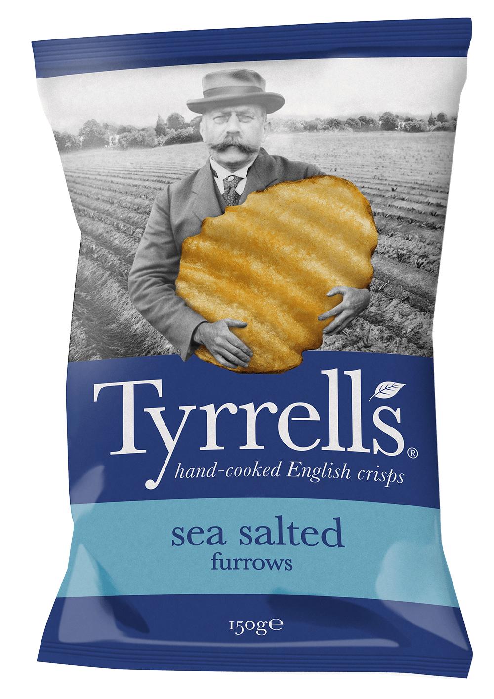 Tyrrell's Lightly Salted Crisp 150g Bag 38p @ Tesco Instore