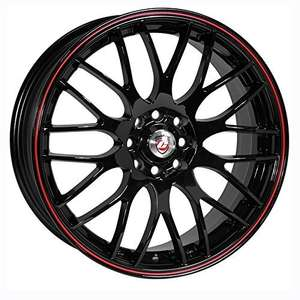 4x100 / 4x108 fitment alloy wheels. £110.12 @ Amazon