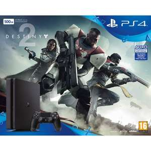 PS4 Slim - 500 GB Jet Black with Destiny 2 £229 @ Co-op electrical