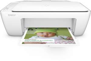 HP DJ2130, All-in-One, Inkjet Colour Printer, A4 - White now £15 (Prime) £19.75 (Non Prime) @ Amazon