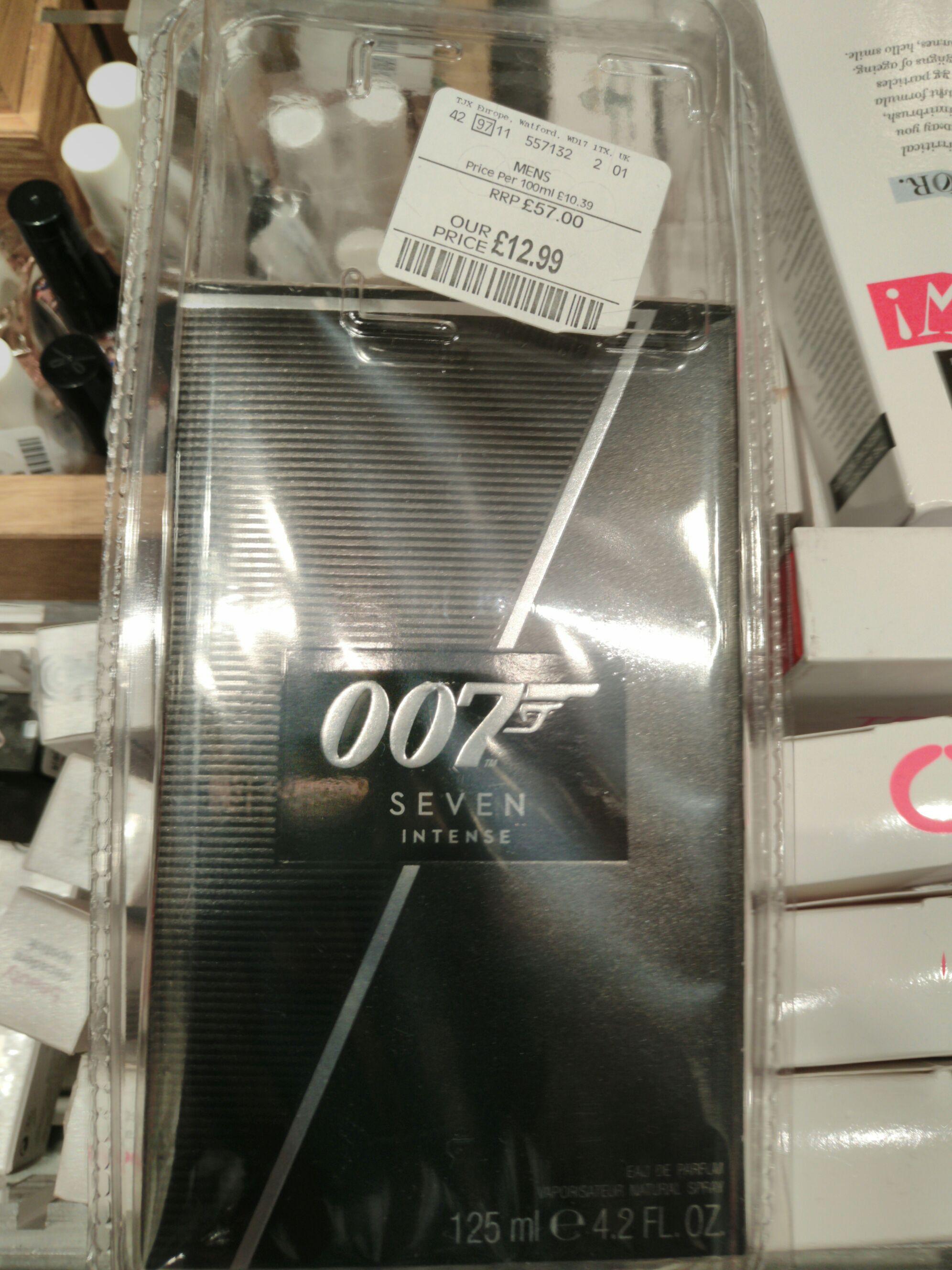 007 Seven Intense TKmaxx in store 125ml Mens EDP 12.99