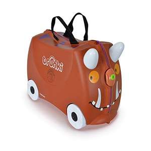 £33.06 for a Trunki Ride-on Suitcase - Limited Edition Gruffalo (Brown) @ Amazon