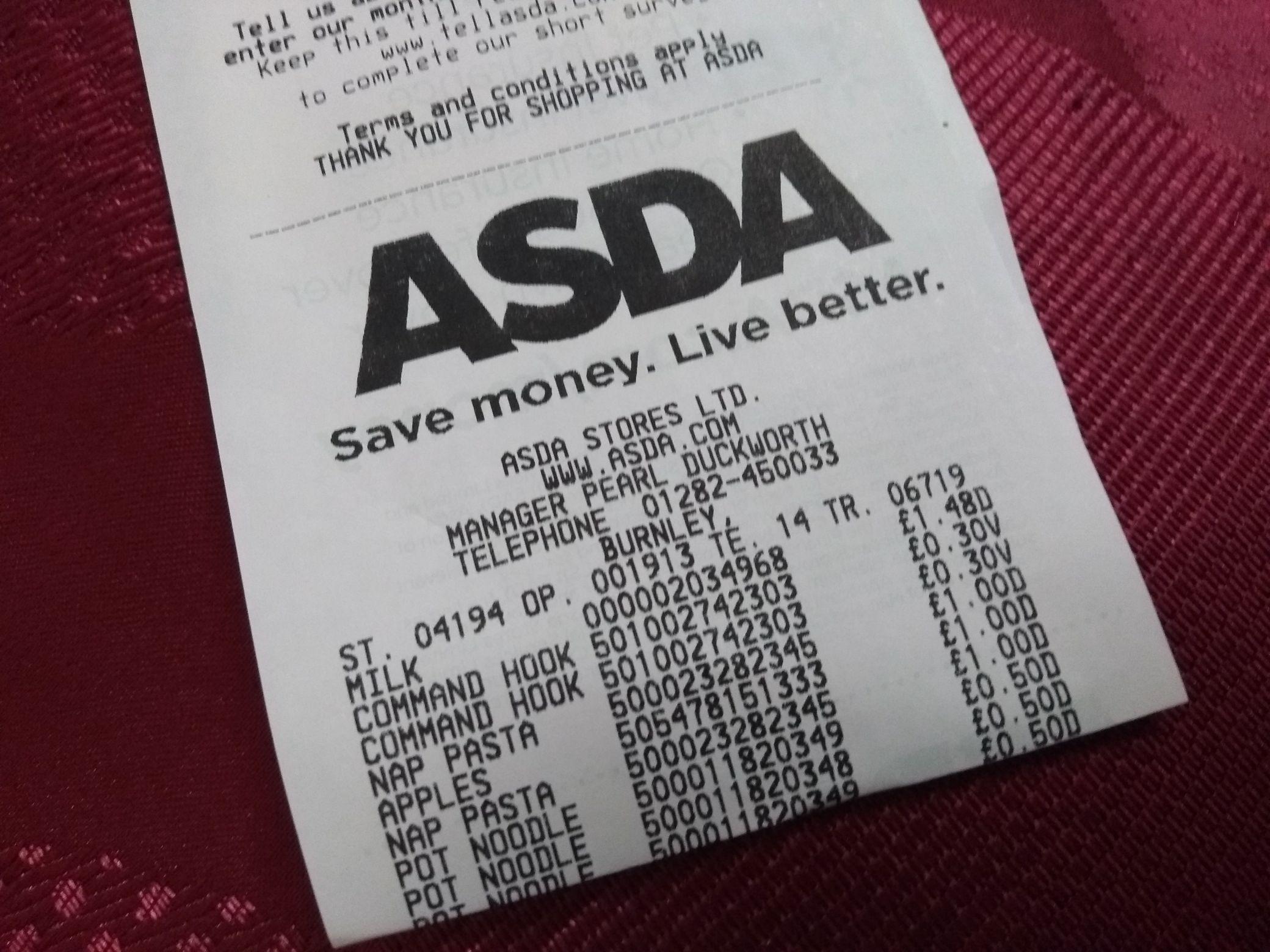 3M Command Damage-Free Medium Hooks - 30p instore @ Asda (Burnley)