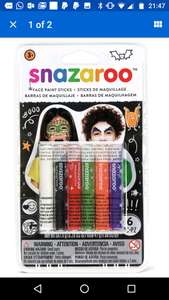 Snazaroo face painting sticks - £1.49 delivered @ Argos Ebay