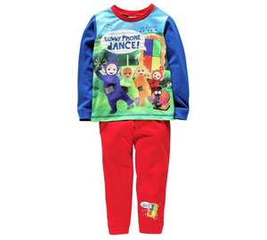 Tellytubbies pyjamat set for £2.49 @ Argos