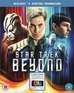 Star Trek Beyond Blu-Ray £4.59 (10% Discount code) @ Zoom