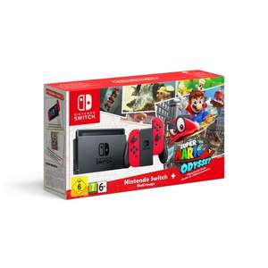 Nintendo Switch & Super Mario Odyssey Limited Edition Bundle £319.99 @ Smyths (Preorder)