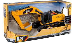 CAT Massive Machine Light and Sounds Excavator was £40 now £20 C+C in Big Toy Rollback @ Asda George (+ more in OP)