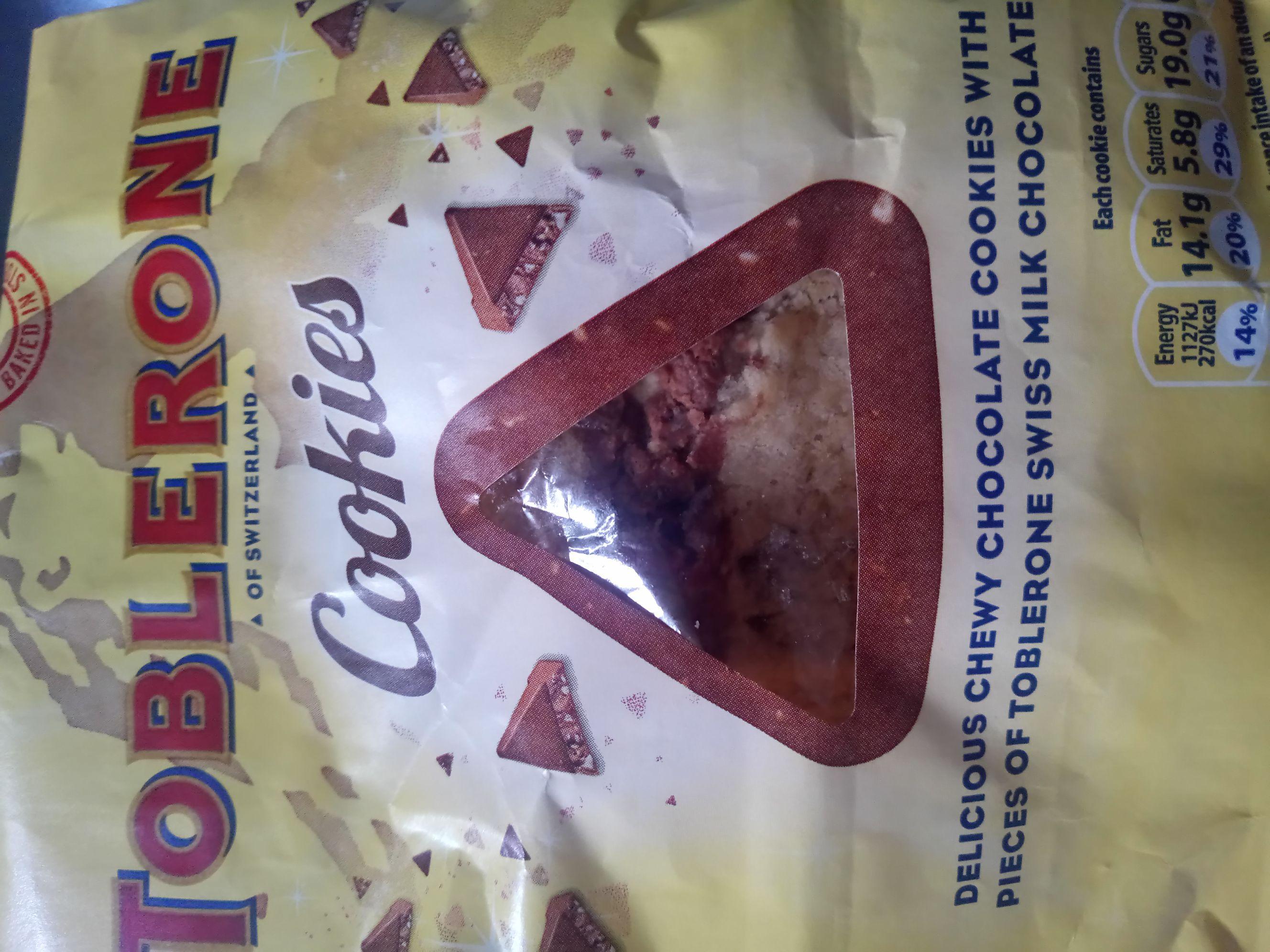Asda Toblerone cookies  down to 50p instore