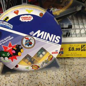 Thomas the Tank Engine Minis DC Collector Case £8.99 Home Bargains in-store