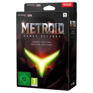 Metroid: Samus Returns Legacy Edition 3DS @ Nintendo Store - £59.99
