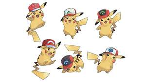 [3DS] **Updated - finished** Pokemon Sun and Moon. Special Pikachu freebie wearing one of Ash's hats. (Read description before you redeem the code)
