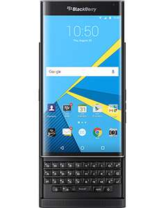 BlackBerry Priv 32GB 4G LTE SIM FREE/ UNLOCKED - Black £192 with code BUY599 eglobalcentral