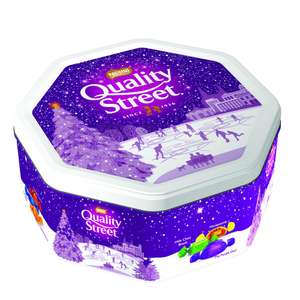 Quality Street Tin 1.2kg £7.50 - Wilko instore or online Click and Collect