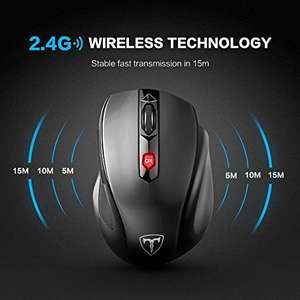 Wireless Mouse Pictek 2.4G Wireless Laptop Mouse Computer Mice PC Mouse with Nano Receiver, 6 Buttons, 2400 DPI £5.94 Amazon Lightning Deal