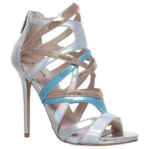 Carvela Gum Occasion Stiletto Heeled Sandals in Silver was £140 then £39 / £29 & now £19 instore / online @ John Lewis (+£2 C+C for orders under £30)