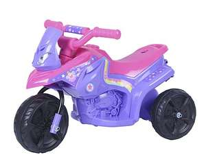 Fairy 6V Ride On Bike £15 with code (free C & C) RRP £60 @ Tesco direct