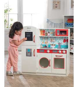 Play wooden personalised kitchen delivered for £56.99 @ studio