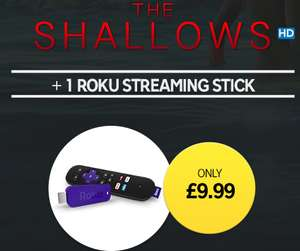 The Shallows HD movie + Roku Streaming Stick £9.99 @ Rakuten TV
