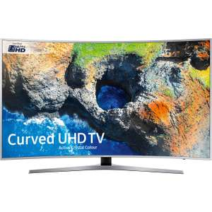 "Samsung UE49MU6500 49"" Smart 4K with HDR Curved TV £551.65 Delivered using code @ AO"