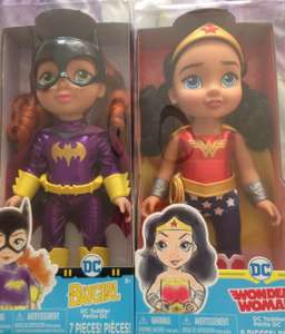 Dc Superhero toddler dolls instore £15 @ Asda - St Helens