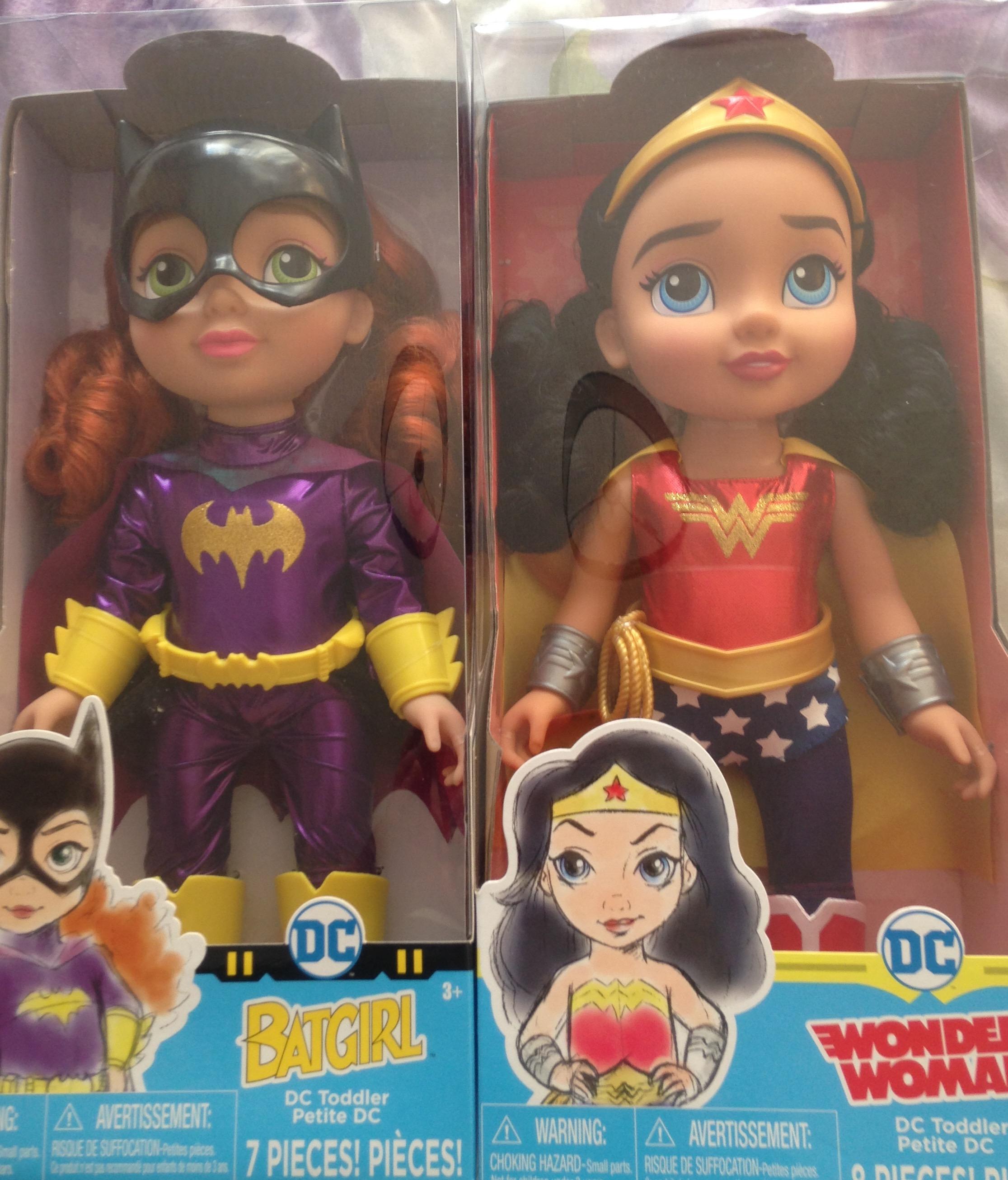 Dc Superhero toddler dolls instore £15 @ Asda - St Helens