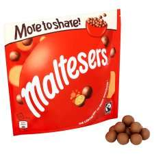 Malteasers 166g bag for £1.50. Buy 2 for a free cinema ticket @ Tesco
