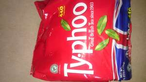 440 Typhoo Teabags for £3.99 @ Lidl