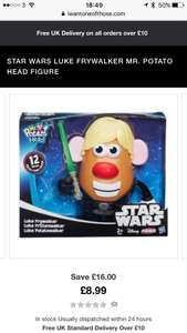 STAR WARS LUKE FRYWALKER MR. POTATO HEAD FIGURE Was £24.99 Now £8.99 / £10.98 delivered @ IWOOT
