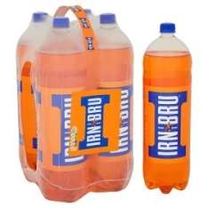 4x2l bottles IRN BRU for £3 in poundstretcher