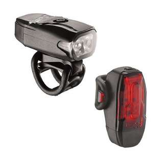 Lezyne KTV2 Drive Front and Rear Light Set red £14.99 at Wiggle