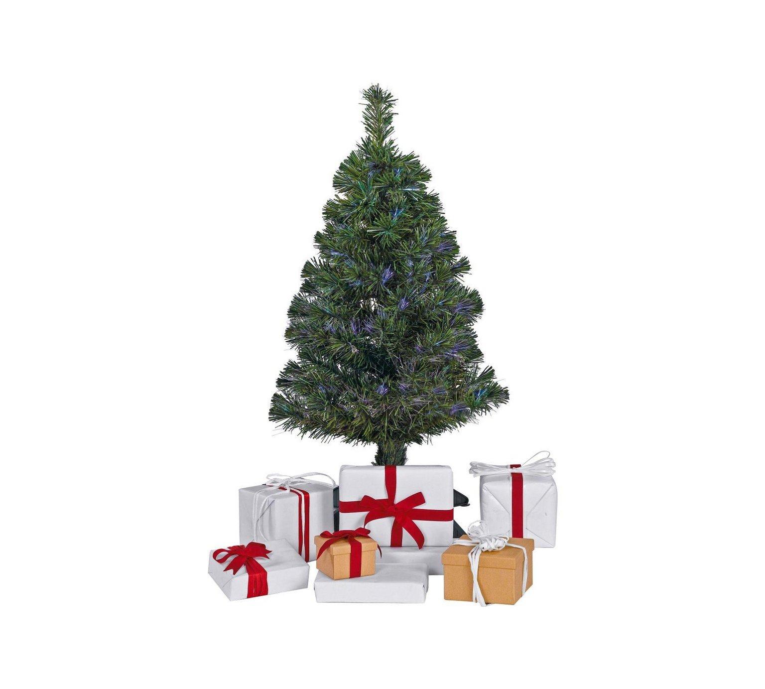 Mini Christmas Tree - 3ft Mini Fibre Optic Christmas Tree - Green for £4.99 @Argos