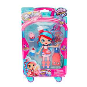 Two shopkins shoppie dolls £17 @ Claires