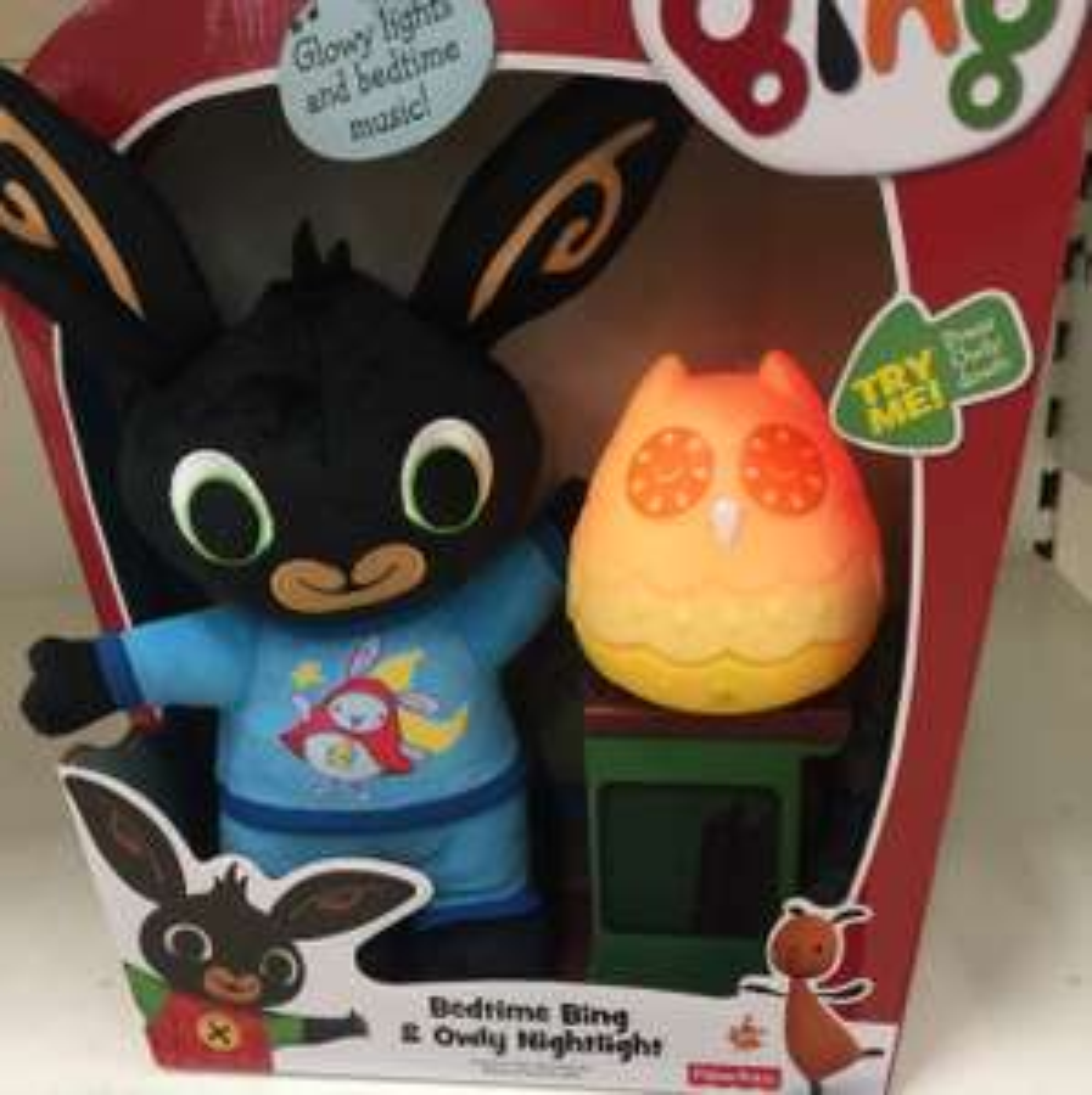 Bing bedtime bing and owly night light £14 @ Tesco St. Helens Ravenhead