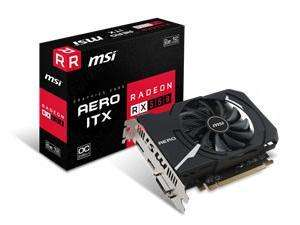MSI AMD Radeon RX 550 2GB AERO ITX OC Graphics Card £59.99 @ Novatech