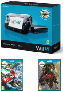 Preowned Wii U Bundle (Fair Condition) with Mario Kart 8 & Twighlight Princess £119.99 @ Game