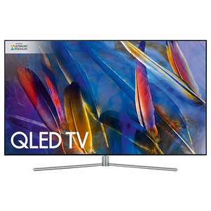 "Samsung QE55Q7F QLED 4K Ultra HD Smart TV, 55"" + FREE UBD-M9000 4K UHD Blu-Ray/DVD Player £1959 John Lewis"