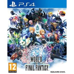 world of final fantasy ps4 £12.95 @ the game collection