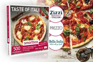 Three Course Meal with Glass of Wine for Two at Prezzo / Zizzi / Bella Italia - £19.99 - Buyagift (£10 off ANY £20 spend - YAYSAVINGS)
