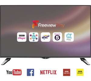 "JVC LT-49C862 Smart 4K Ultra HD 49"" LED TV £208.97 delivered @ Currys"