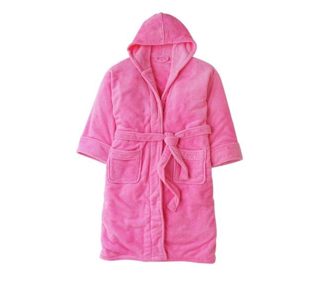 Pretty Pink Adult Fleece Robe £4.99 FREE R&C ARGOS